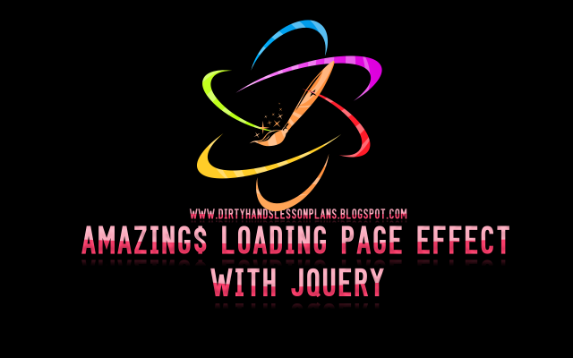 Amazing Loading Page Effect With jQuery