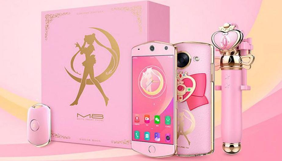 Amarás este nuevo smartphone si eres fan de Sailor Moon