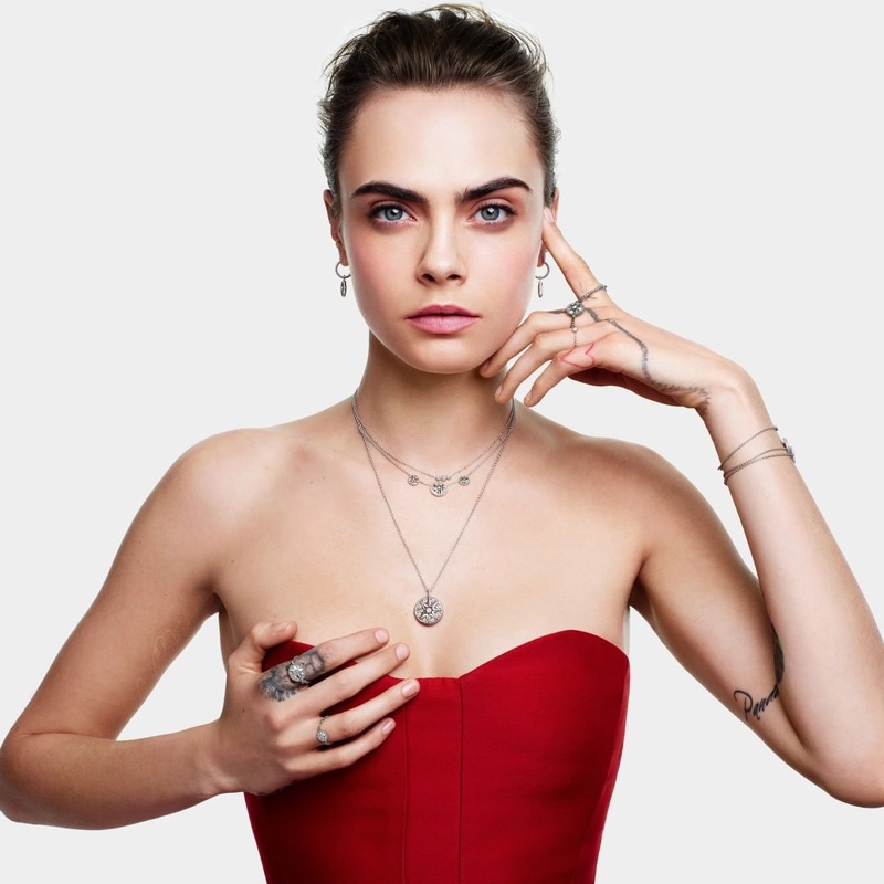 Cara Delevingne stars in Dior Joaillerie Christmas 2020 campaign