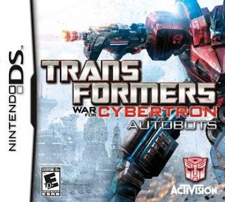 Rom Transformers War for Cybertron Autobots NDS