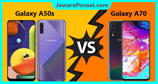Perbandingan spek Galaxy A50s dan Galaxy A70