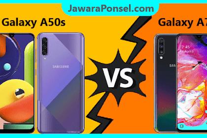 ADU Spek Samsung Galaxy A50s dan Galaxy A70, Sobat Pilih Mana ?