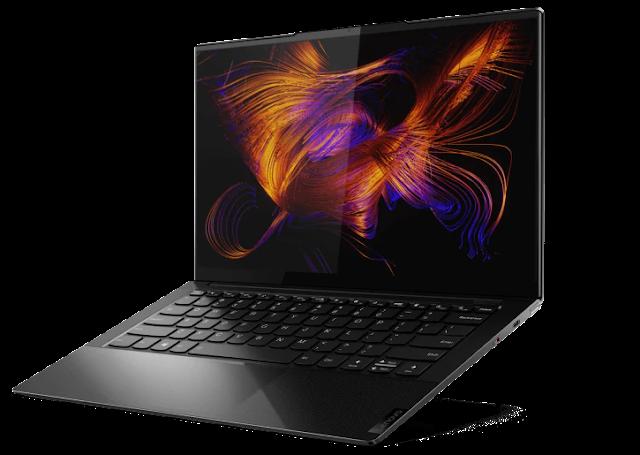 Os mais recentes portáteis Yoga da Lenovo apresentam novos processadores Intel Core para dispositivos mobile de 11ª geração com gráficos Intel Iris Xe