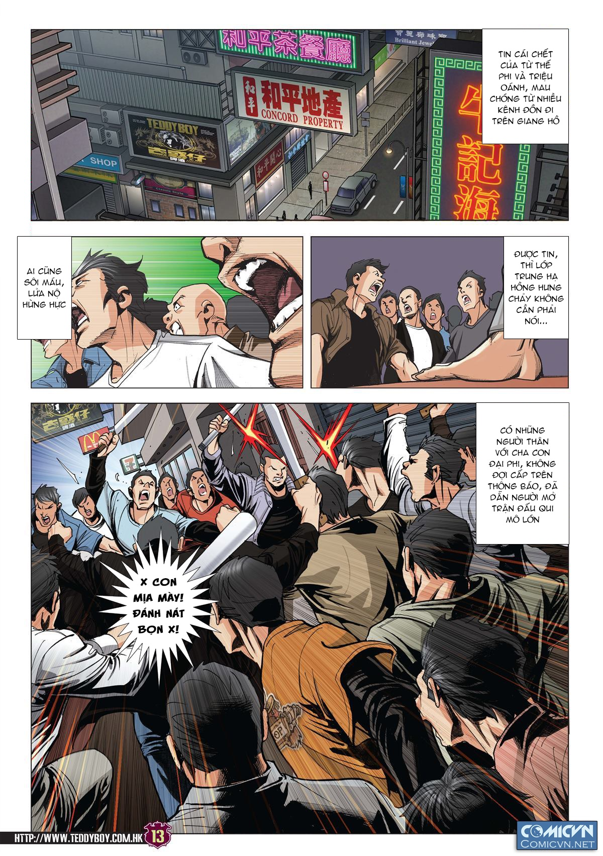 Người Trong Giang Hồ Chap 2002 - Next Chap 2003