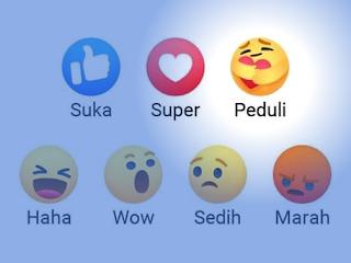 Emoji Baru di Facebook: Emote Peduli, Yuk Coba!