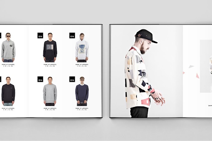 Fashion Catalog Indesign Brochure Template