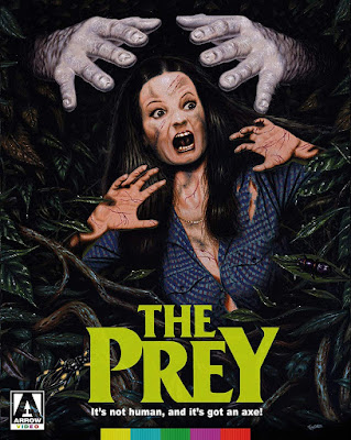 Blu-ray cover for Arrow Video's Limited Edition of THE PREY!