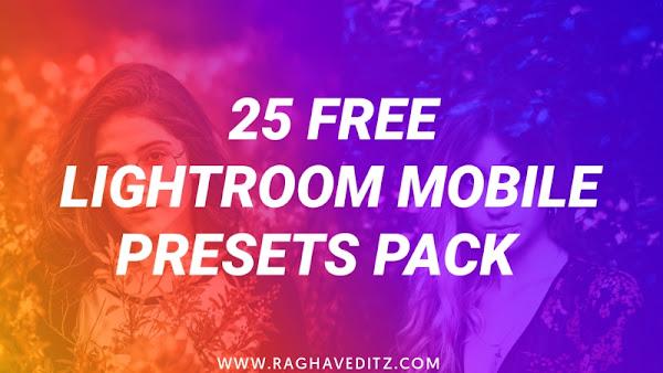 lightroom mobile presets, lightroom presets for mobile