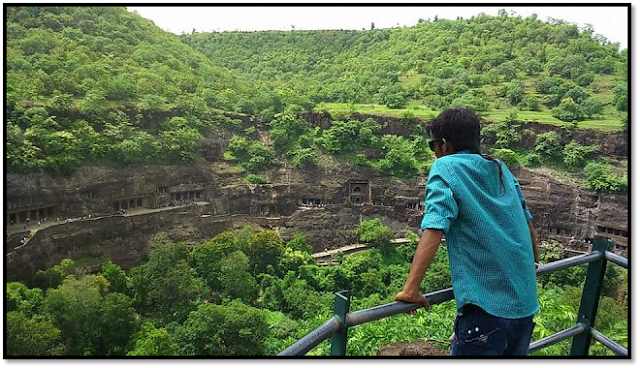 Ajanta-ellora caves, ajanta view point