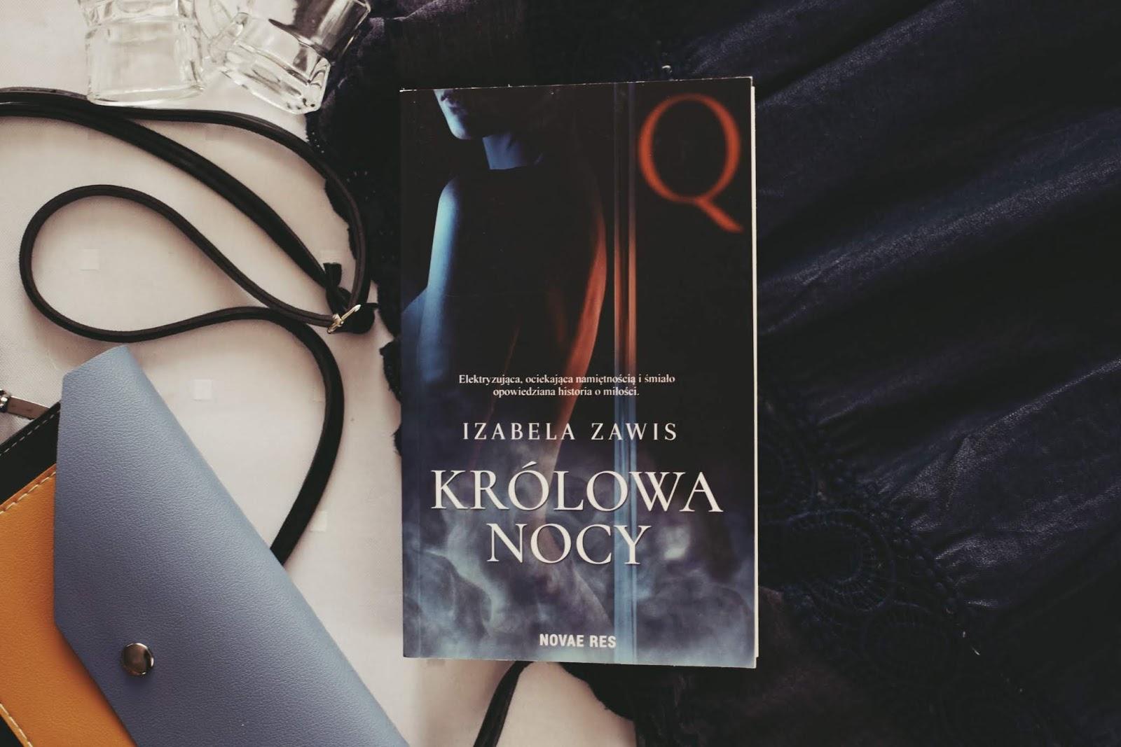 erotyk, IzabelaZawis, KrólowaNocy, opowiadanie, recenzja, romans, striptiz, taniec, WydawnictwoNovaeRes,