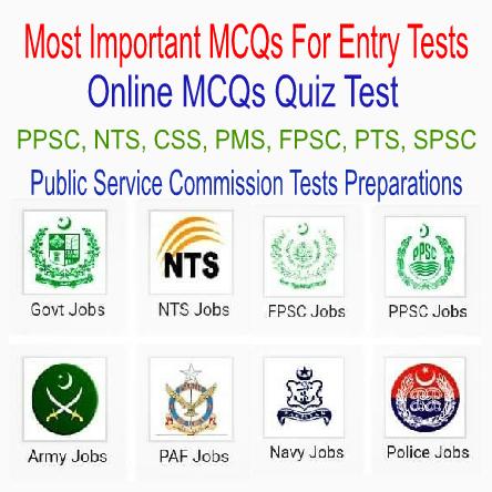 Entry Test MCQs