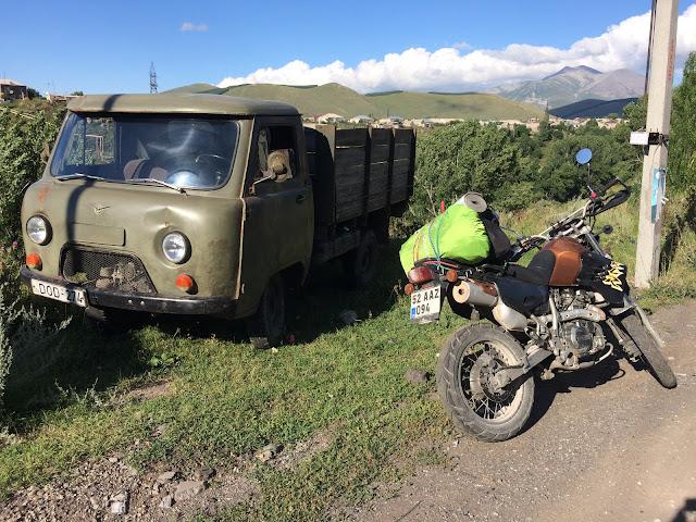 Gürcistan Ermenistan motosiklet turu
