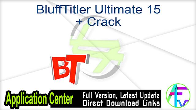 BluffTitler Ultimate 15 + Crack