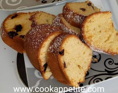 Lemon Fruit Cake Recipe