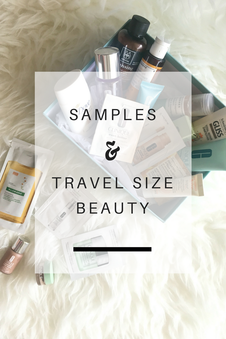 Samples & Travel Size Beauty Products // Δείγματα και Προϊόντα Ομορφιάς σε ταξιδιωτικό μέγεθος - Ioanna's Notebook
