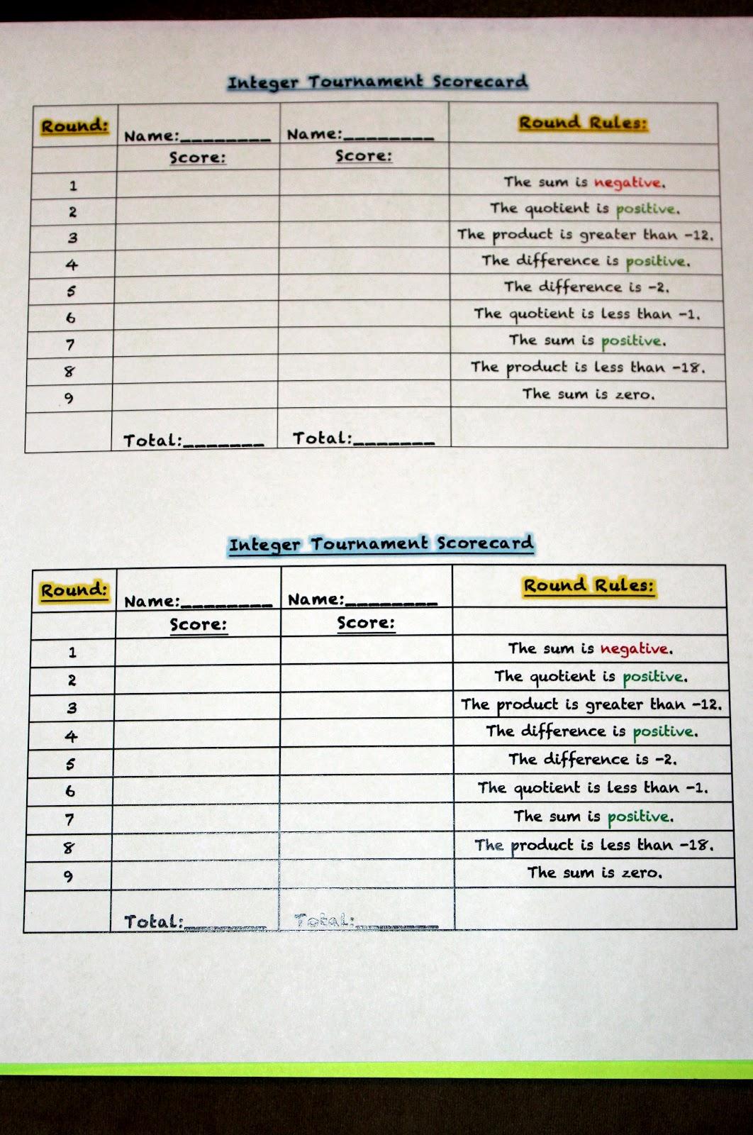Middle School Math Madness Made 4 Math Monday 1