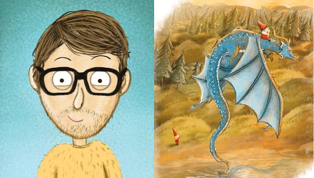 Ilustrator o rysunkach w dziecięcych książkach