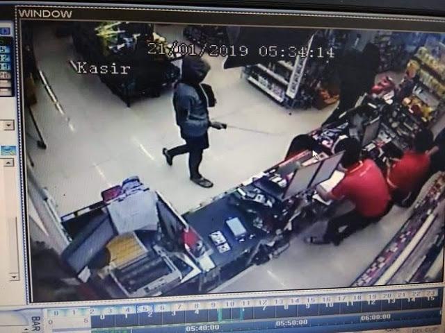Usai Merampok di Kebumen, Pelaku Jarah Minimarket di Banyumas