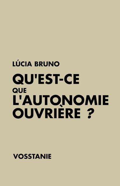 AUTONOMIE OUVRIÈRE & SYNDICAT