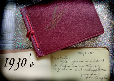 autograph book verses and ideas