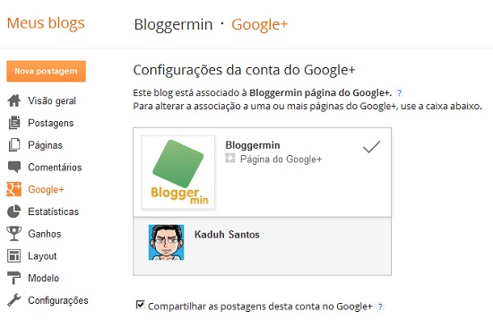 blogger googleplus