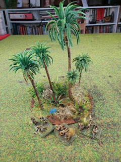 A Jungle terrain piece for Malaya