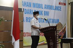 Wali Kota Mataram Launching Digitalisasi Layanan RSUD