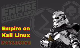 Empire 3 by bc security on Kali Linux tutorial
