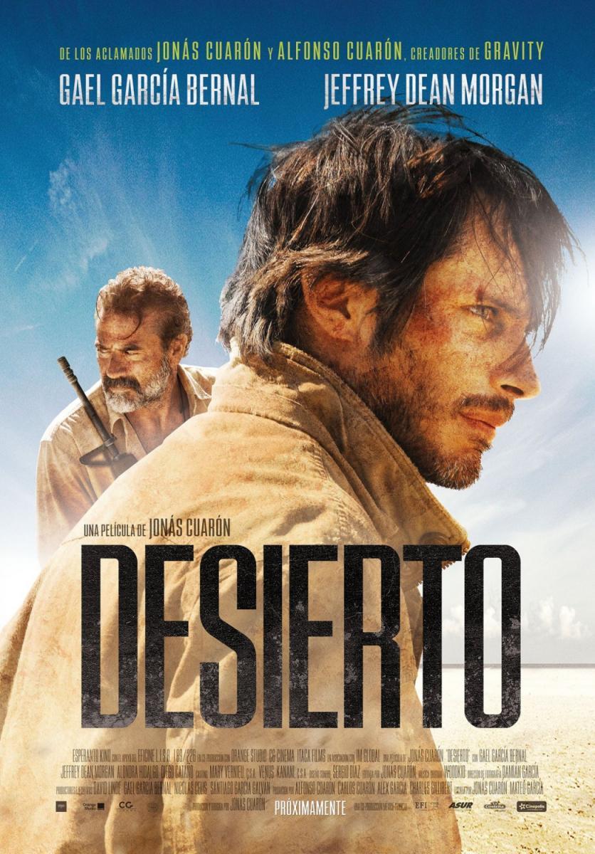 Desierto [2015] [DVDR] [NTSC] [Latino – English]