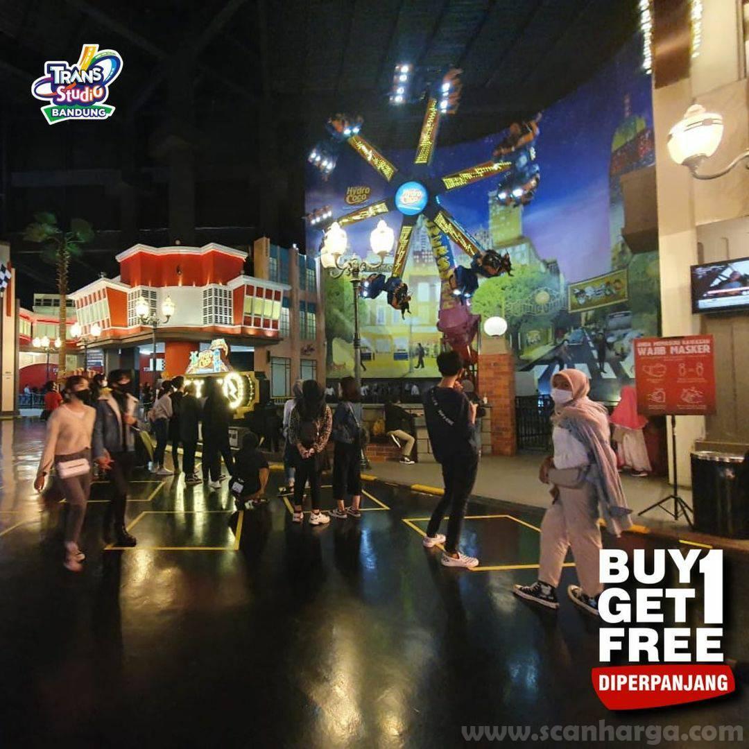 Promo Trans Studio Bandung BUY 1 GET 1 FREE! November 2020
