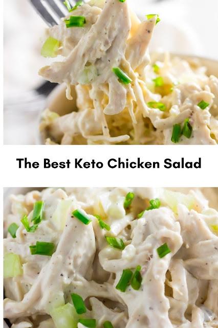 The Best Keto Chicken Salad