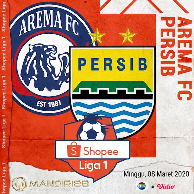 Prediksi Arema FC Vs Persib Bandung, Minggu 08 Maret 2020 Pukul 15.30 WIB @ Indosiar