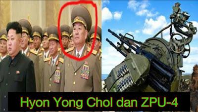 Tahukah anda Menteri Pertahanan Korea Utara pernah dihukum mati ditembak kerana tertidur semasa mesyuarat.