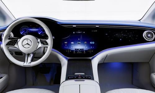 Mercedes unveils its electric car EQE