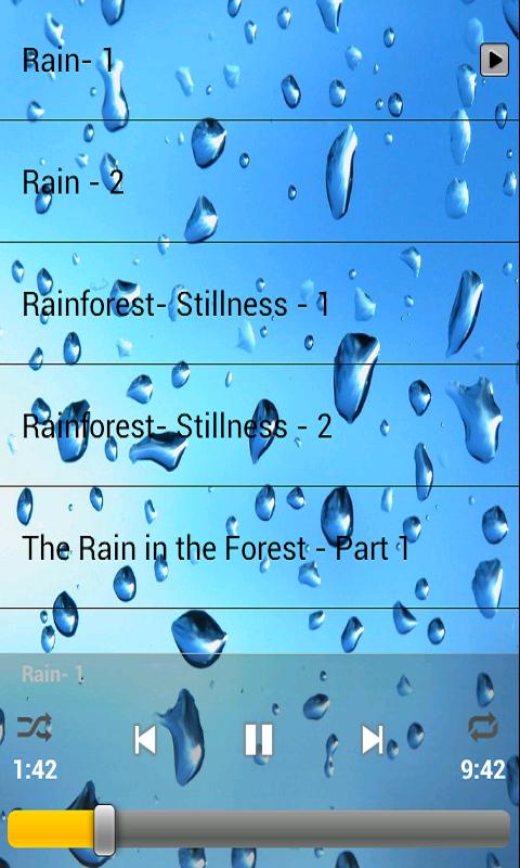 Pragar Soft: Relaxing: Sounds of Rain