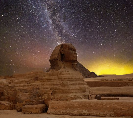 Mystery of the pyramid of Egypt