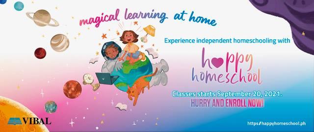 Vibal Happy Home School 2021
