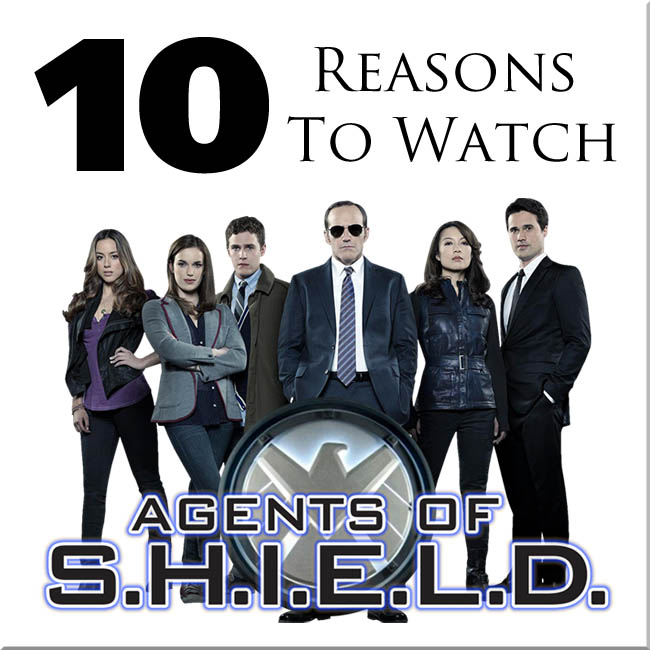 Know Your Show: Agents of SHIELD #AtoZChallenge
