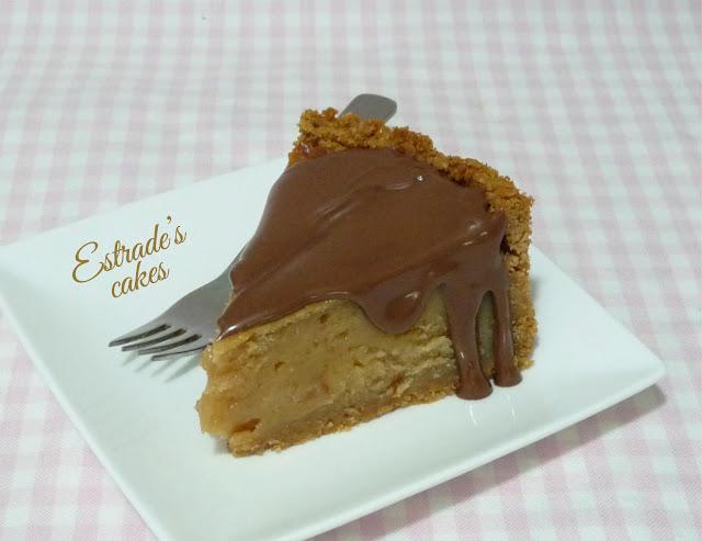 Receta de tarta de de queso de crema de cacahuetes 4