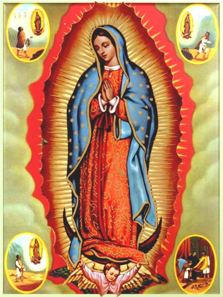 Virgen De Guadalupe Oracion Abre Caminos Amor Dinero Trabajo Salud Oraciones A Los Santos