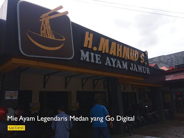 Mie Ayam Legendaris Medan yang Go Digital