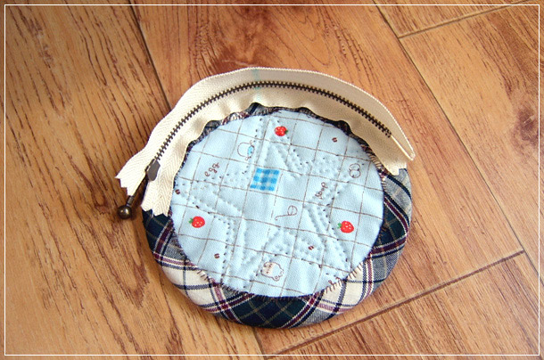 Coin Purse Pattern Zipper. DIY tutorial in pictures. Кошелек-монетница на молнии.