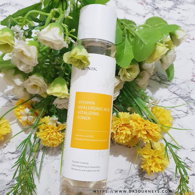 Review iUNIK Vitamin Hyaluronic Acid Vitalizing Toner