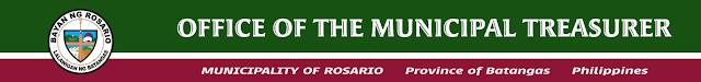 Office of the Municipal Treasurer Rosario Batangas