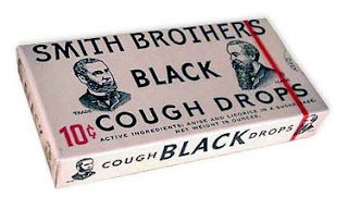 Black cough drops