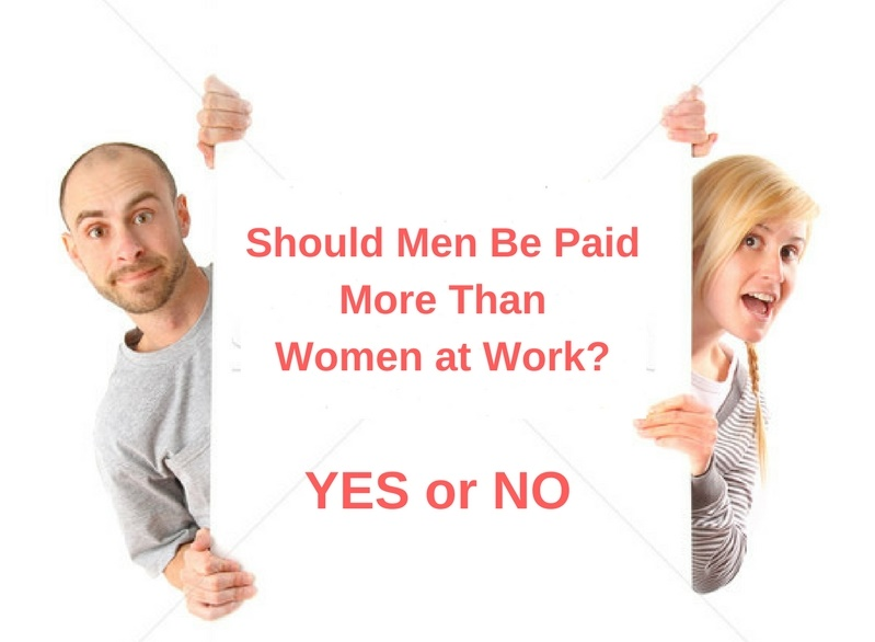 Should Men Be Paid More Than Women of Same Degree in a Company?