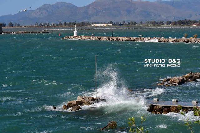 Λιμεναρχείο Ναυπλίου: Θυελλώδεις άνεμοι 8 Μποφόρ σε Σαρωνικό και Νοτιοδυτικό Αιγαίο