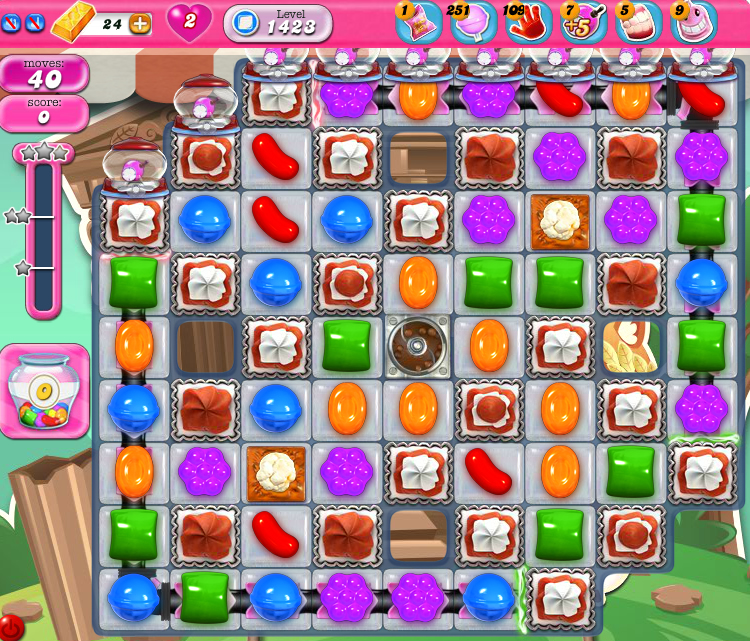 Candy Crush Saga 1423