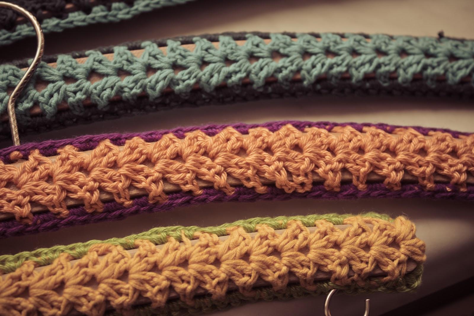 crochet hanger