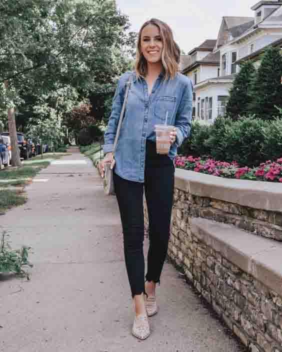 6 maneiras de usar a camisa jeans